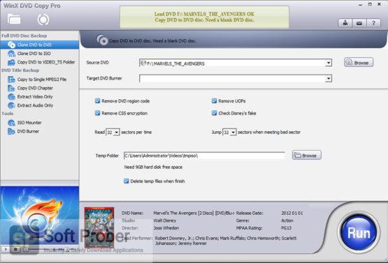 WinX DVD Copy Pro 2021 Direct Link Download Softprober.com