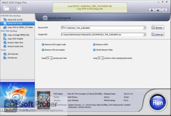 WinX DVD Copy Pro 2021 Latest Version Download Softprober.com