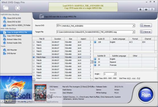 WinX DVD Copy Pro 2021 Offline Installer Download Softprober.com