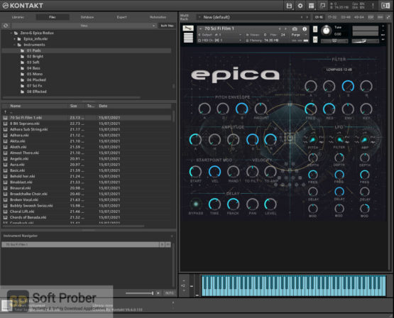 Zero G EPICA Redux Latest Version Download Softprober.com