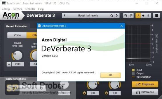 Acon Digital DeVerberate 3 Offline Installer Download Softprober.com