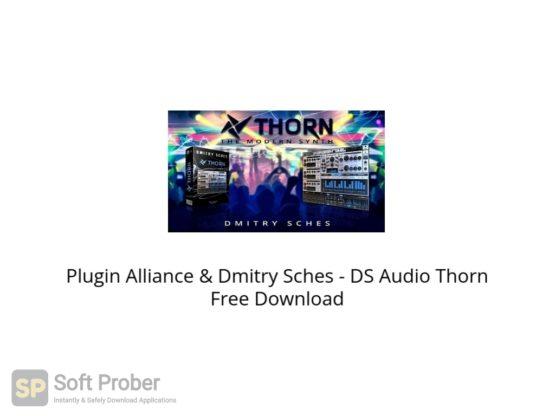 Plugin Alliance & Dmitry Sches DS Audio Thorn Free Download Softprober.com