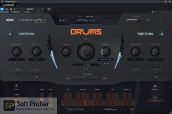 uJAM Symphonic Elements DRUMS Direct Link Download Softprober.com