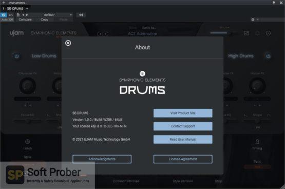 uJAM Symphonic Elements DRUMS Offline Installer Download Softprober.com